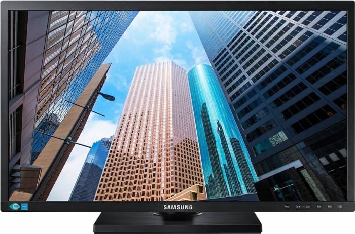 imagine 1 Monitor LED 22 Samsung LS22E45KBSV/EN 5ms Full HD ls22e45kbsv/en