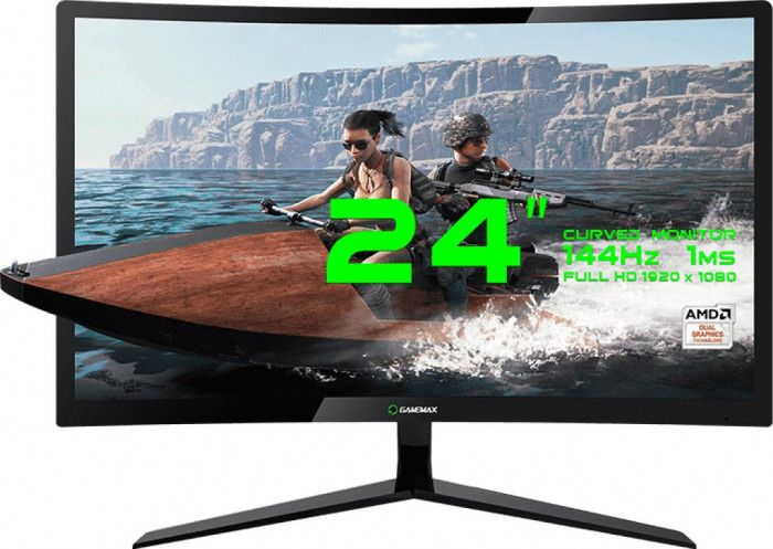 imagine 0 Monitor LED 23.6 Gamemax GMX24C144 Full HD 1ms 144Hz mtgmgmx24b