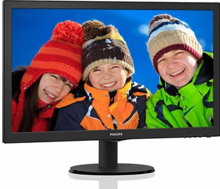 imagine 1 Monitor LED 23.6 Philips 243V5QSBA Full HD 243v5qsba/00