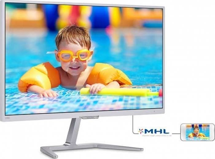 imagine 0 Monitor LED 23.6 Philips 246E7QDSW FullHD Silver 246e7qdsw/00