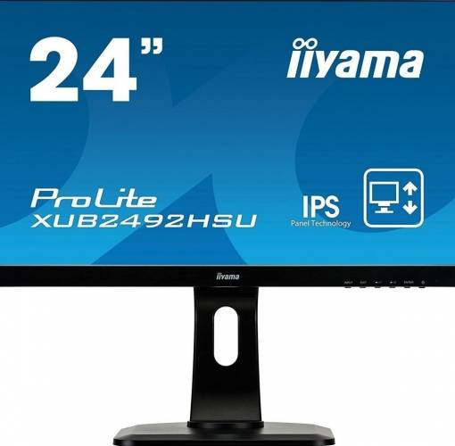 imagine 0 Monitor LED 23.8 Iiyama ProLite XUB2492HSU-B1 Full HD IPS 5ms xub2492hsu-b1