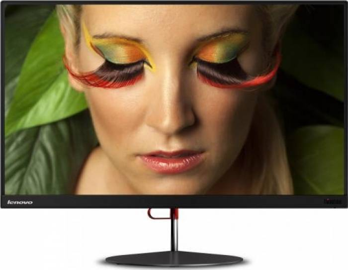 imagine 0 Monitor LED 23.8 Lenovo ThinkVision X24 IPS Full HD Ultra-slim Negru 60cfgat1eu