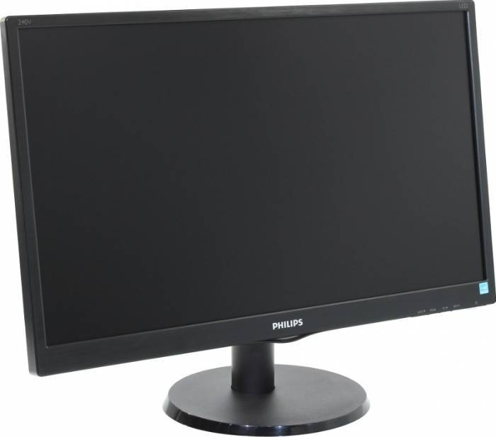 imagine 2 Monitor LED 23.8 Philips 240V5QDSB/00 Full HD IPS Negru 240v5qdsb/00