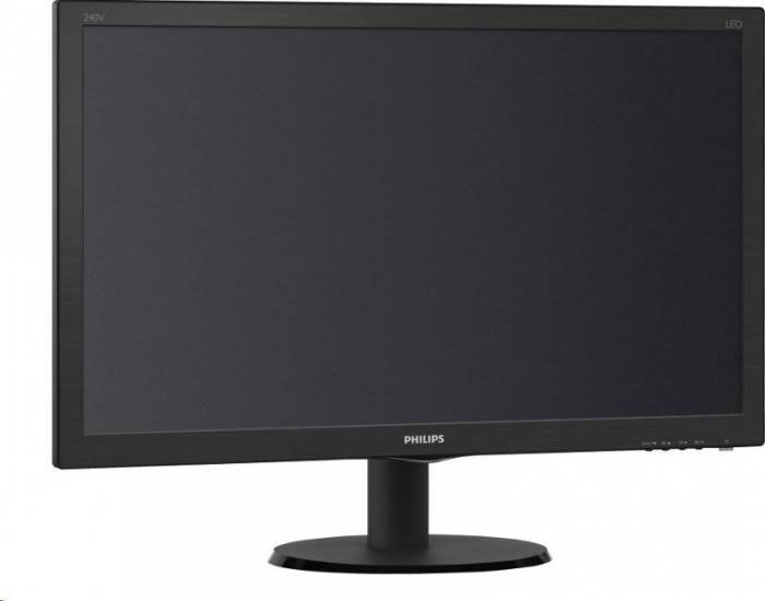 imagine 1 Monitor LED 23.8 Philips 240V5QDAB FullHD Black 240v5qdab/00