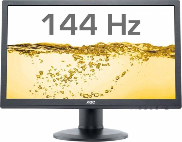 imagine 2 Monitor Gaming LED 24 AOC G2460FQ Full HD 144Hz 1ms GTG Negru g2460fq