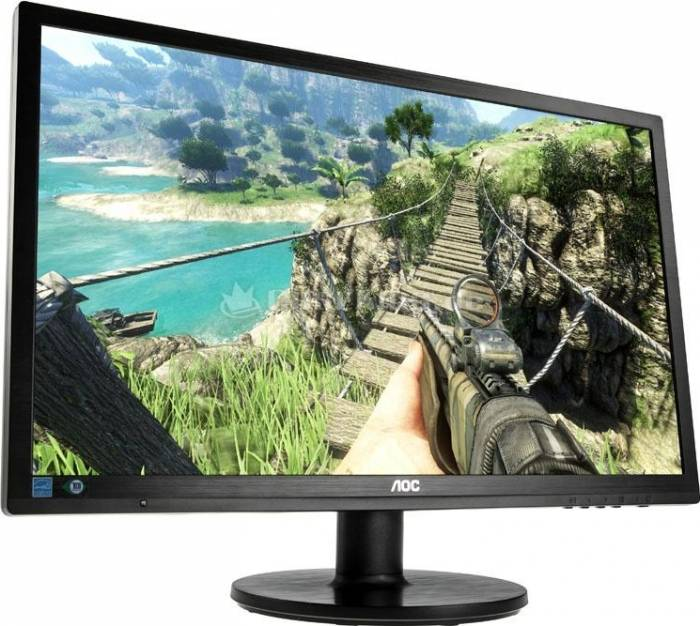 imagine 0 Monitor Gaming LED 24 AOC G2460FQ Full HD 144Hz 1ms GTG Negru g2460fq