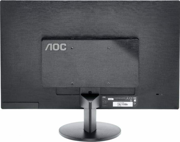 imagine 1 Monitor LED 24 AOC M2470SWDA2 FullHD Black m2470swda2