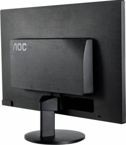 imagine 2 Monitor LED 24 AOC M2470SWDA2 FullHD Black m2470swda2