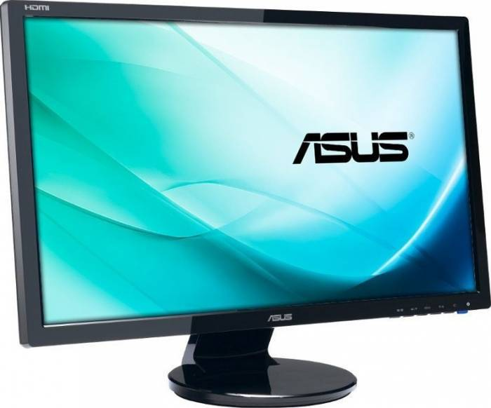 imagine 1 Monitor Gaming LED 24 Asus VE248HR FullHD Black ve248hr