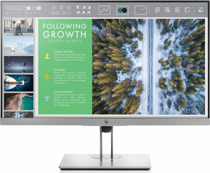 imagine 0 Monitor LED 24 HP EliteDisplay E243 Full HD IPS 5 ms 1fh47aa