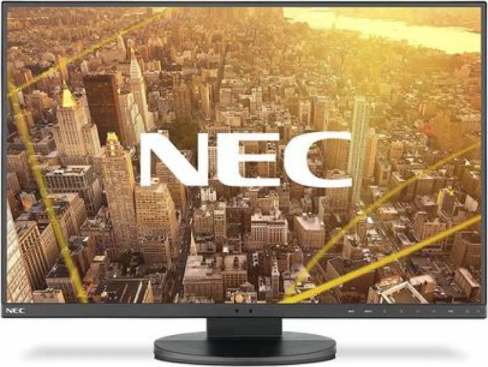 imagine 0 Monitor LED 24 NEC EA245WMi-2 IPS Boxe Negru 60004486