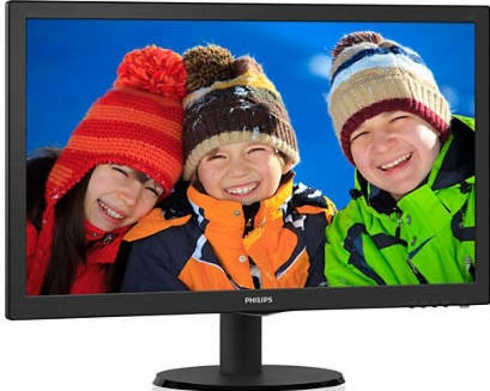 imagine 1 Monitor LED 24 Philips 243V5LSB500 Full HD 5ms 243V5LSB5/00
