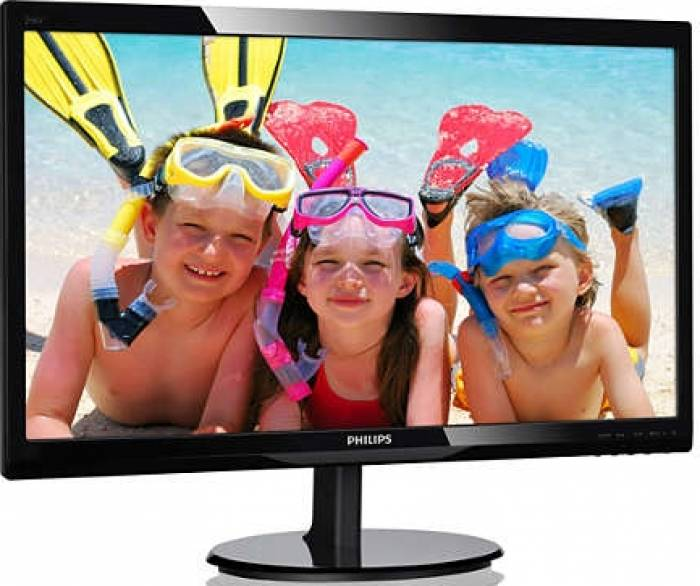 imagine 1 Monitor LED 24 Philips 246V5LDSB/00 Full HD 1ms 246v5ldsb/00