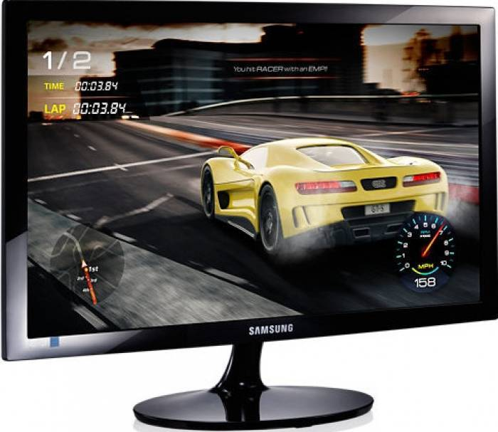 imagine 3 Monitor LED 24 Samsung LS24D330HSX/EN Full HD 1ms ls24d330hsx/en