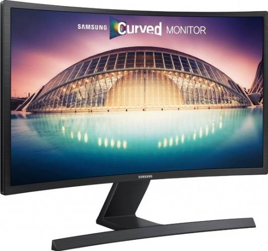 imagine 1 Monitor LED 24 Samsung LS24E500CS Full HD Black s24e500c