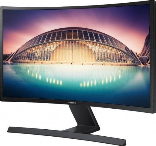 imagine 3 Monitor LED 24 Samsung LS24E500CS Full HD Black s24e500c