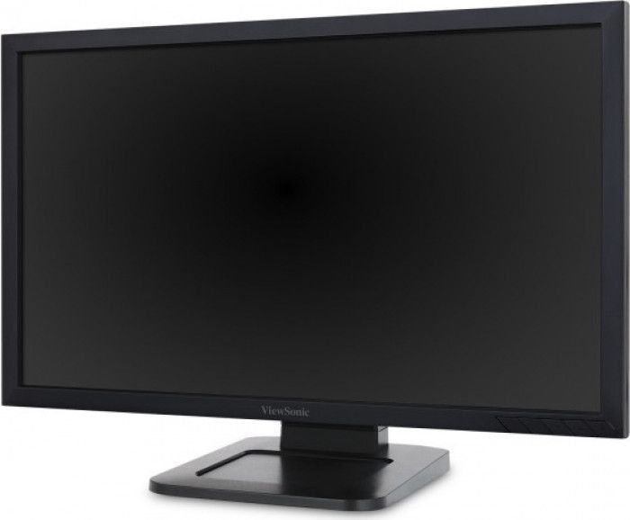imagine 2 Monitor LED 24 ViewSonic TD2421 Full HD 5ms Touch screens td2421