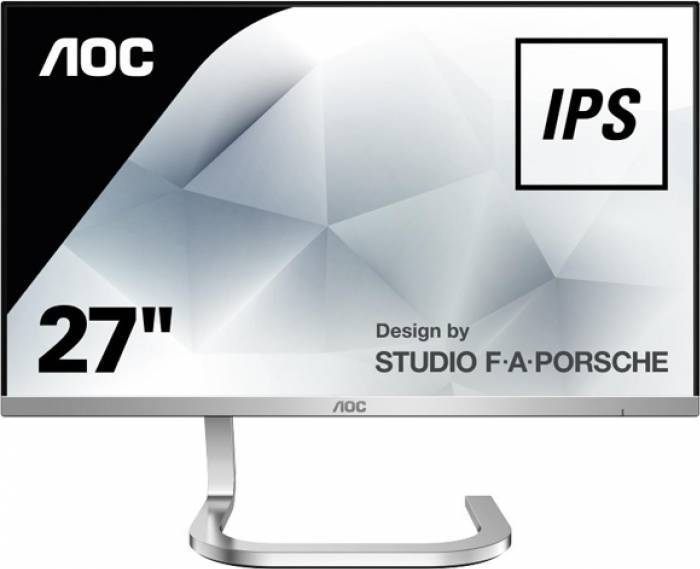 imagine 0 Monitor LED 27 AOC PDS271 Full HD IPS 4ms GTG pds271