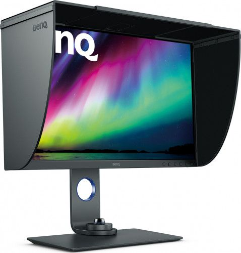 imagine 3 Monitor LED 27 Benq SW270C 2K QHD 5ms IPS Negru 9h.lhtlb.qbe