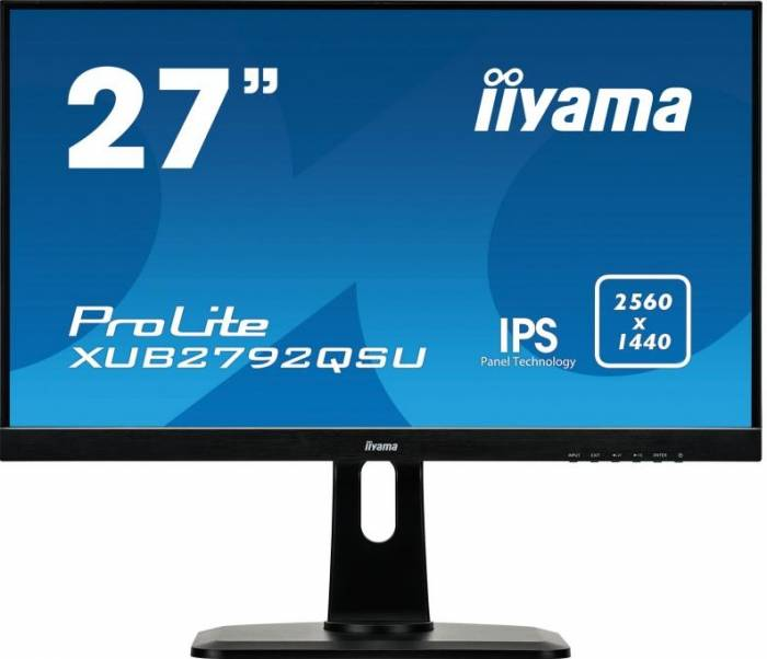 imagine 0 Monitor LED 27 Iiyama XUB2792QSU-B1 IPS WQHD 5ms xub2792qsu-b1