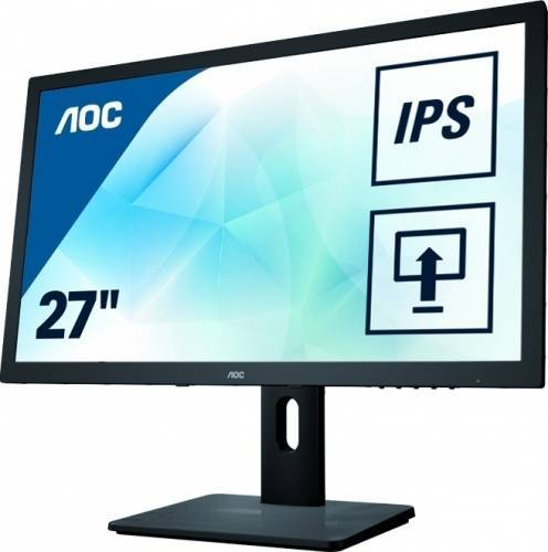 imagine 0 Monitor LED 27 AOC Q2775PQU WQHD IPS 4 ms Negru q2775pqu