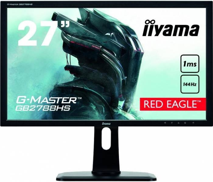 imagine 0 Monitor LED 27 Iiyama GB2788HS-B1 Full HD 1 ms Negru gb2788hs-b1