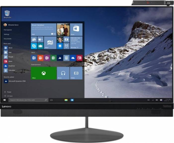 imagine 0 Monitor LED 27 Lenovo ThinkVision X1 IPS UHD Gri 60e2gat1eu