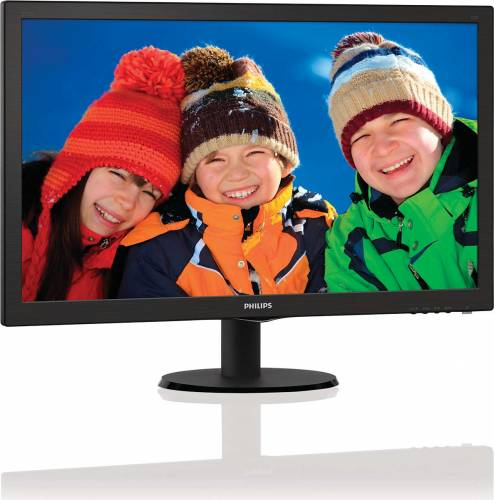 imagine 1 Monitor LED 27 Philips 273V5LHSB00 Full HD 1ms 273v5lhsb/01