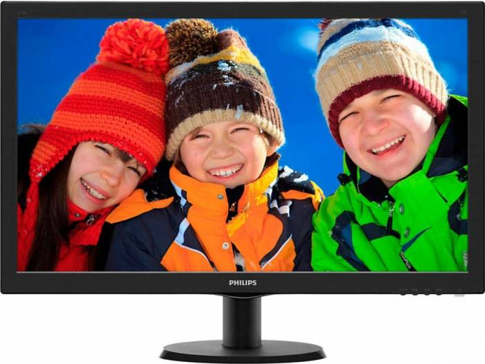imagine 0 Monitor LED 27 Philips 273V5LHSB00 Full HD 1ms 273v5lhsb/01