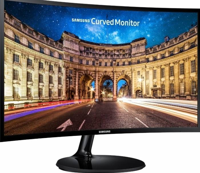 imagine 2 Monitor LED Curbat 27 Samsung LC27F390FHUXEN FullHD 4ms Black C27F390FHU