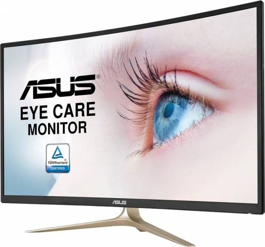 imagine 3 Monitor Curbat LED 31.5 Asus VA327H Full HD 4ms GTG va327h