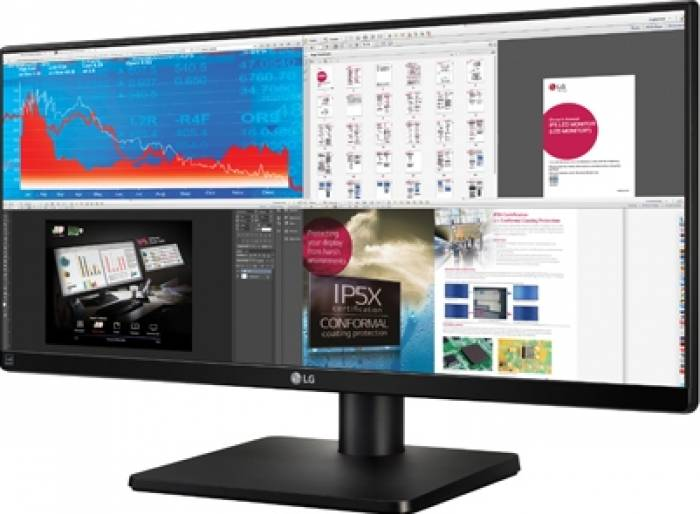 imagine 1 Monitor LED 34 LG 34UB67-B IPS UWHD 5ms Negru 34ub67-b