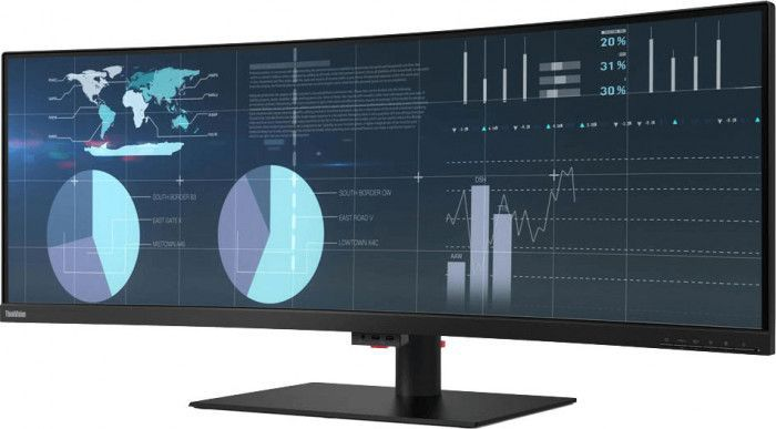 imagine 3 Monitor LED 43.4 Lenovo ThinkVision P44w-10 4ms 144Hz Negru 61d9rat1eu