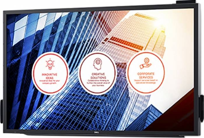 imagine 1 Monitor LED 55 Dell C5518QT IPS 4K UHD Touch 8 ms c5518qt