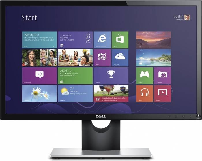imagine 0 Monitor LED Dell SE2216H 21.5 inch Full HD Negru se2216h-05