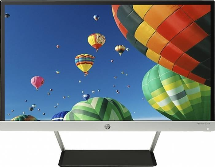 imagine 0 Monitor LED HP Pavilion 22cw 21.5 inch Full HD Argintiu j7y66aa
