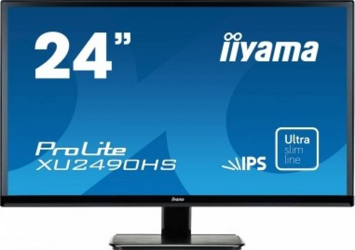 imagine 0 Monitor LED IIyama Prolite XU2490HS-B1 24 inch Negru xu2490hs-b1