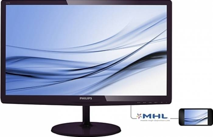 imagine 0 Monitor LED Philips 227E6EDSD00 21.5 inch Full HD Negru 227e6edsd/00