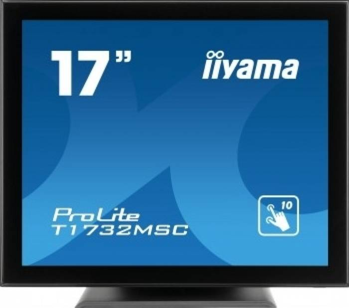 imagine 0 Monitor LED 17 Touchscreen Iiyama Prolite T1732MSC-B1X SXGA 5ms Negru t1732msc-b1x