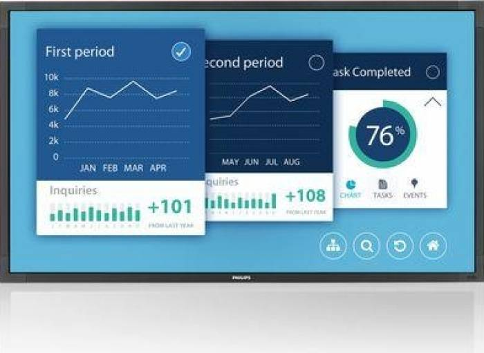 imagine 1 Monitor LFD 42.5 Philips 43BDL4051T Full HD Boxe Android Multi-touch 43bdl4051t/00