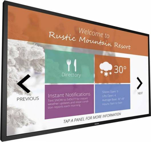 imagine 0 Monitor LFD 42.5 Philips 43BDL4051T Full HD Boxe Android Multi-touch 43bdl4051t/00