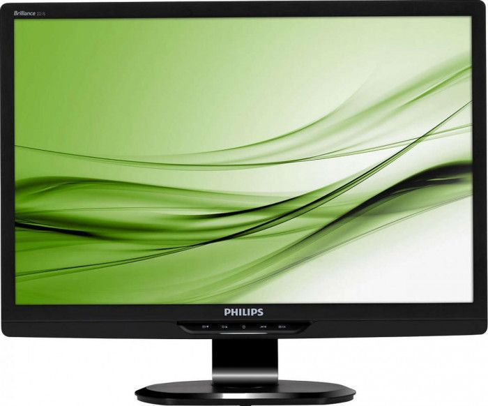 imagine 0 Monitor 21.5 Philips Brilliance 221s Full HD 5ms DVI+VGA Refurbished abd0441