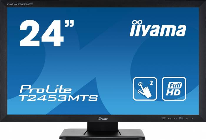 imagine 1 Monitor Touchscreen 24 Iiyama T2453MTS-B1 Full HD 4ms Black t2453mts-b1