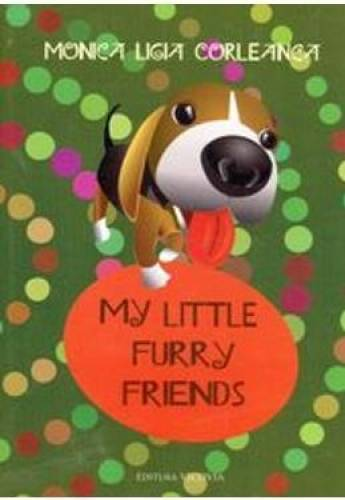 imagine 0 My Little Furry Friends - Monica Ligia Corleanca 978-973-1902-91-3