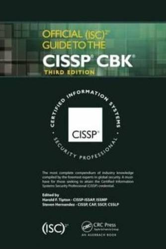imagine 0 Official Isc 2 Guide To The Cissp Cbk 1466569768