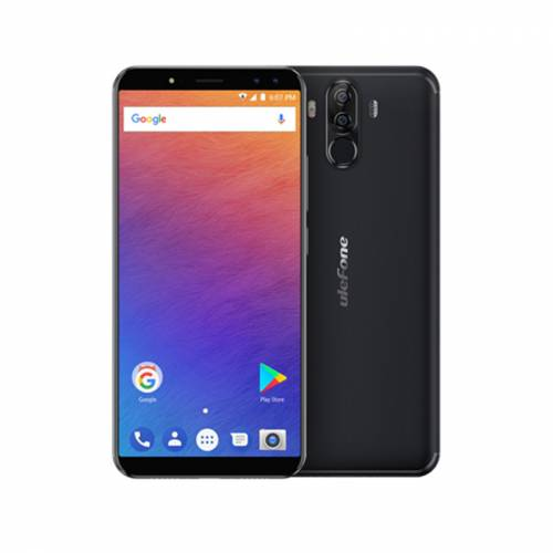 imagine 0 Pachet Telefon Mobil Ulefone Power 3 4G husa + folie 6.0 inch Face id 3d touch Android 8.1 6GB RAM 64GB ROM Negru ds-1410