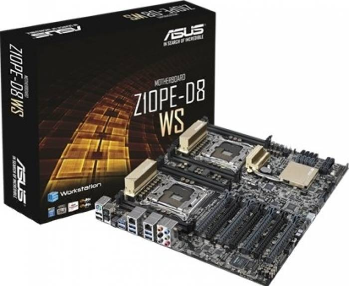 imagine 3 Placa de baza Server Asus Z10PE-D8 WS Socket 2011-3 z10pe-d8 ws