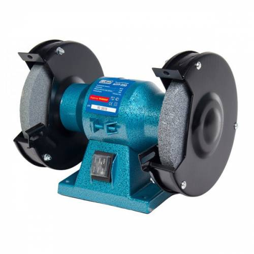 imagine 0 Polizor de banc Izhmash Rusia ITP550 550 W 2950 RPM 150 mm - 12.7 mm albastru itp550