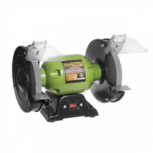 imagine 0 Polizor de banc Procraft PAE-1250 Germania 1250 W 2950 RPM 200 mm - 12.7 mm pae-1250