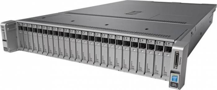 imagine 0 Server Configurabil Cisco C240M4SX Intel Xeon E5-2620v4 noHDD 16GB  2x1200W UCS-SPR-C240M4-BS1